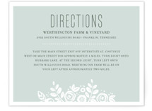 White Shadows Direction Cards
