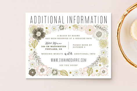 Flower Box Direction Cards