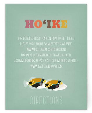 Humuhumu 10x Directions Cards