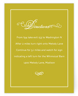 French Meringue Direction Cards