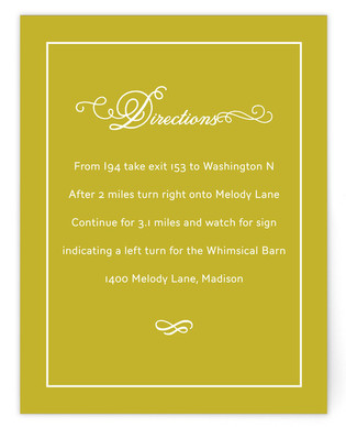 French Meringue Directions Cards