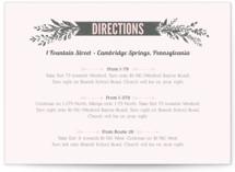 Woodland Romance Direction Cards