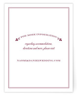 Wedding Boughs Direction Cards