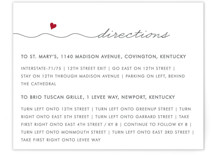 Love Connection Direction Cards