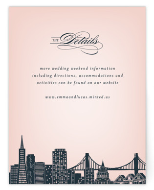 Big City- San Francisco Directions Cards
