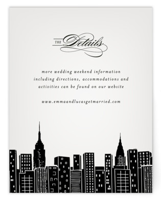 Big City- New York City Directions Cards