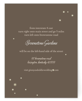 Fireflies Directions Cards