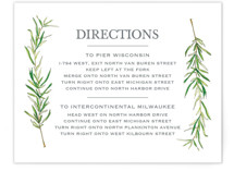 Simple Sprigs Direction Cards