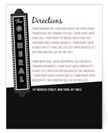 The Production Direction Cards