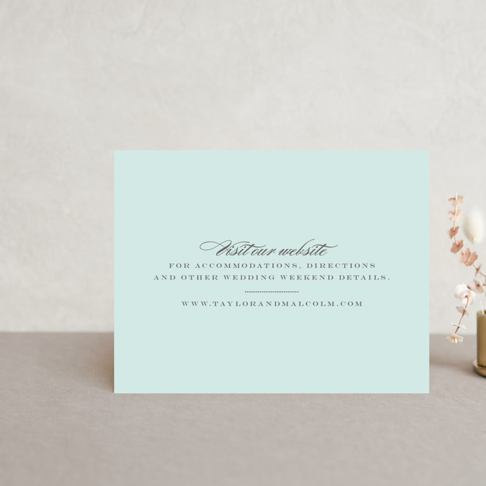 """Charming Go Lightly"" - Direction Cards in Sky Blue by danielleb."