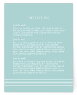 simply stripes Direction Cards
