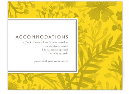 Sundance Wildflowers Directions Cards