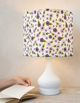 Floral Dots Drum Lampshades