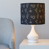 Texas Flora Drum Lampshades