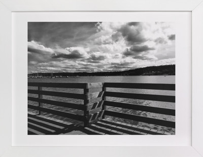 Boardwalk Shadow Domino Non-custom Art Print