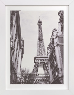 Eiffel Domino Non-custom Art Print