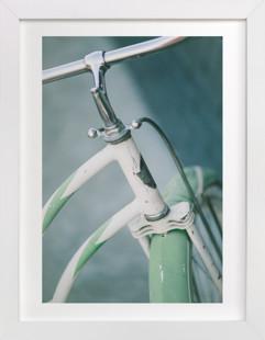 Bicyclette I Domino Non-custom Art Print