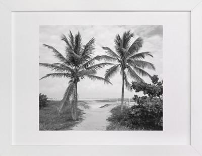 Coconut gate Domino Non-custom Art Print