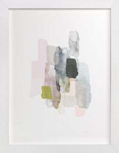 Weathered Domino Non-custom Art Print