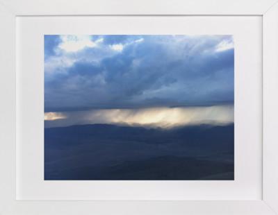 Rain over the Sierra Nevada Domino Non-custom Art Print
