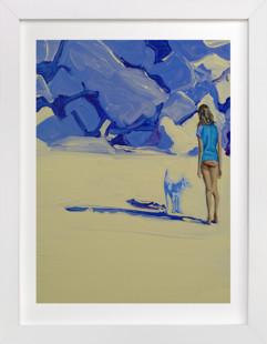 American Idyll 2, Violet Domino Non-custom Art Print