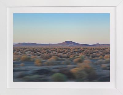 Desert Twilight Domino Non-custom Art Print