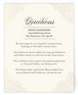 Splendorous Foil-Pressed Direction Cards