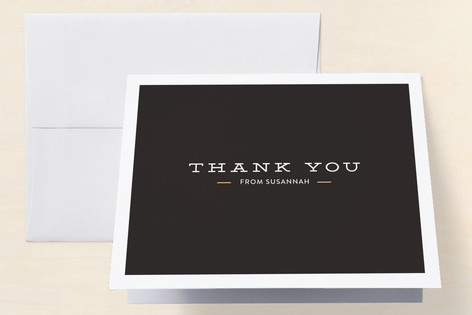 Crazy Candles Adult Birthday Party Thank You Cards