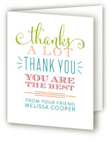 Lordy Lordy Adult Birthday Party Thank You Cards