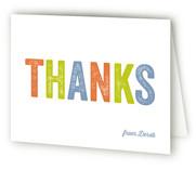 Birthday Acronym Adult Birthday Party Thank You Cards