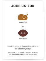 Feasting + Football by Becca Thongkham
