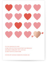 Valentines Heart Grid by curiouszhi design