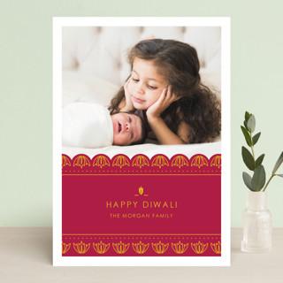 Diya Festival Diwali Cards