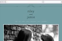 Birds of a Feather Wedding Websites