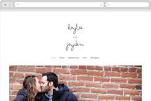 The Happy Couple Wedding Websites