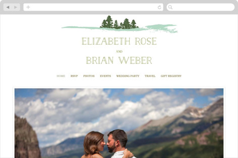 Mountain View Wedding Websites