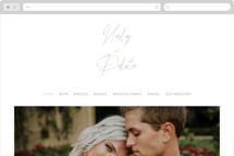 Poised Wedding Websites
