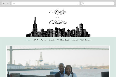 Big City - Chicago Wedding Websites