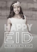 Bold Celebration Eid Cards