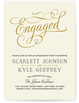 Chic Engagement by Bonjour Paper
