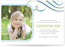 Cloud Nine First Communion Invitations
