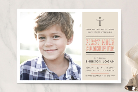 Sainte First Communion Invitations