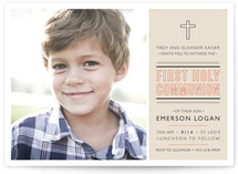 Sainte First Communion Invitations