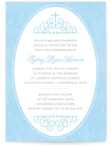 Sweet Tradition First Communion Invitations