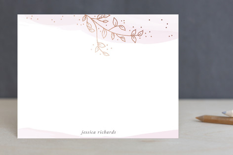 Branch Foil-Pressed Stationery