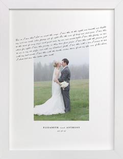 How Do I Love Thee? Custom Photo Art Print