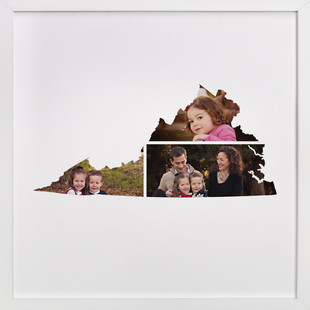 Virginia Love Location Custom Photo Art Print
