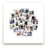 Circle Snapshot Mix™ Photo Art