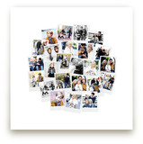 Circle Snapshot Mix® Photo Art