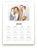 Family Photo Calendar